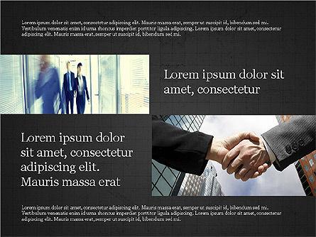 Business Brochure Presentation Template, Slide 13, 04064, Presentation Templates — PoweredTemplate.com