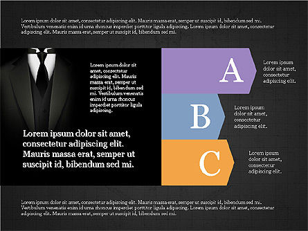 Business Brochure Presentation Template, Slide 14, 04064, Presentation Templates — PoweredTemplate.com