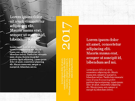 Business Brochure Presentation Template, Slide 4, 04064, Presentation Templates — PoweredTemplate.com