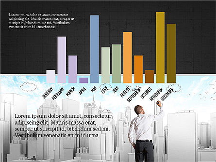 Business Brochure Presentation Template, Slide 9, 04064, Presentation Templates — PoweredTemplate.com