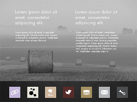 Brochure Presentation Template with Icons Slide 11