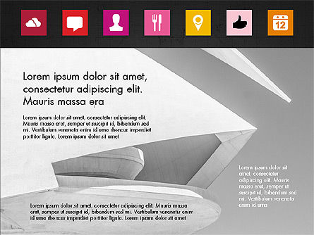 Brochure Presentation Template with Icons Slide 16