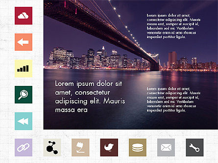 Brochure Presentation Template with Icons Slide 7
