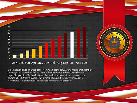 Exceptional Services Data Driven Report Concept, Slide 12, 04068, Data Driven Diagrams and Charts — PoweredTemplate.com