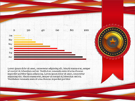 Exceptional Services Data Driven Report Concept, Slide 2, 04068, Data Driven Diagrams and Charts — PoweredTemplate.com