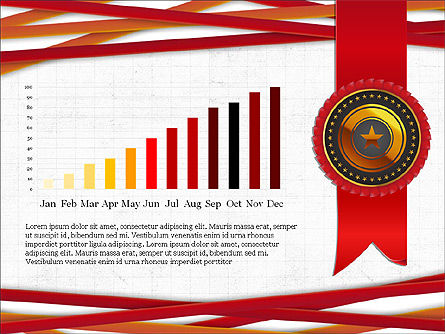Exceptional Services Data Driven Report Concept, Slide 4, 04068, Data Driven Diagrams and Charts — PoweredTemplate.com