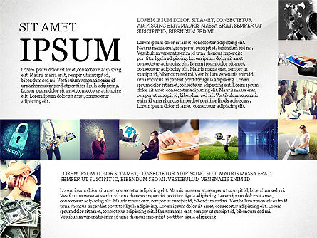 Presentation Templates: Simple Brochure Presentation Template #04070