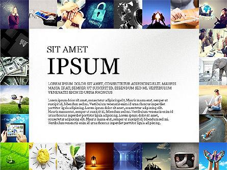 Simple Brochure Presentation Template, Slide 2, 04070, Presentation Templates — PoweredTemplate.com