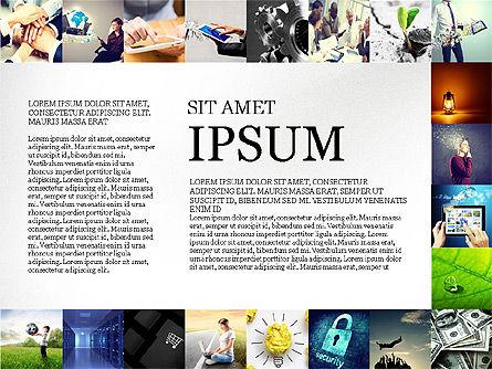 Simple Brochure Presentation Template, Slide 5, 04070, Presentation Templates — PoweredTemplate.com
