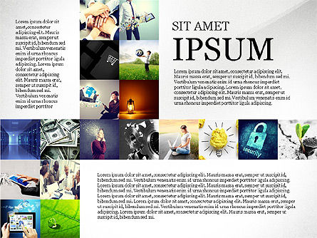 Simple Brochure Presentation Template Slide 7