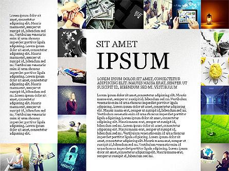 Simple Brochure Presentation Template, Slide 8, 04070, Presentation Templates — PoweredTemplate.com