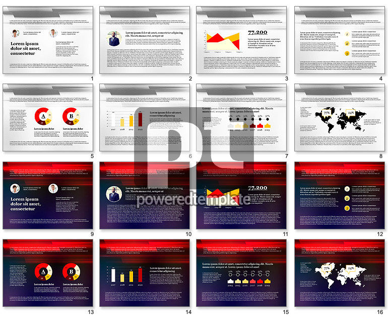 Corporate Modern Presentation Template