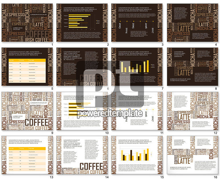 Coffee Presentation Template