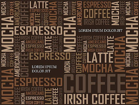 Presentation Templates: Coffee Presentation Template #04076