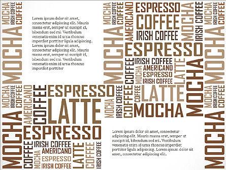 Coffee Presentation Template, Slide 12, 04076, Presentation Templates — PoweredTemplate.com