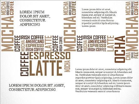 Coffee Presentation Template, Slide 16, 04076, Presentation Templates — PoweredTemplate.com