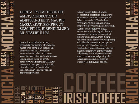 Coffee Presentation Template Slide 6