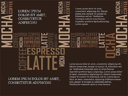 Coffee Presentation Template, Slide 8, 04076, Presentation Templates — PoweredTemplate.com