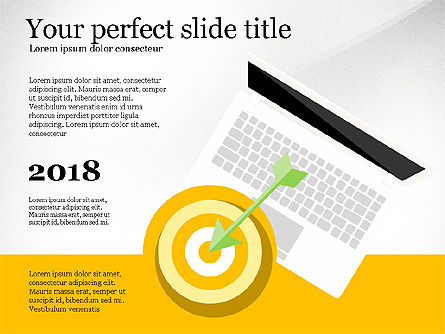 Presentation Templates: Target Audience Presentation Template #04078