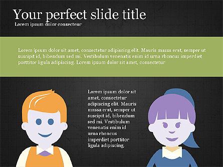 Target Audience Presentation Template, Slide 11, 04078, Presentation Templates — PoweredTemplate.com