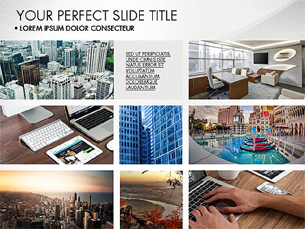 Presentation Templates: Real Estate Brochure Presentation Template #04079