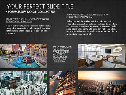 Real Estate Brochure Presentation Template, Slide 12, 04079, Presentation Templates — PoweredTemplate.com