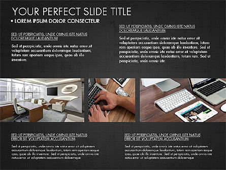 Real Estate Brochure Presentation Template, Slide 13, 04079, Presentation Templates — PoweredTemplate.com