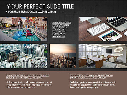 Real Estate Brochure Presentation Template, Slide 16, 04079, Presentation Templates — PoweredTemplate.com