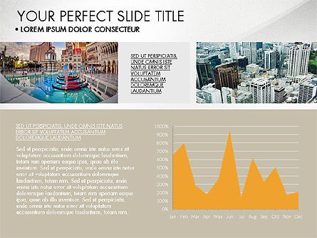 Real Estate Brochure Presentation Template, Slide 3, 04079, Presentation Templates — PoweredTemplate.com