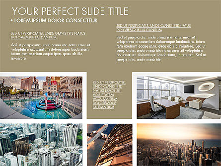Real Estate Brochure Presentation Template, Slide 4, 04079, Presentation Templates — PoweredTemplate.com