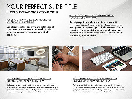 Real Estate Brochure Presentation Template, Slide 5, 04079, Presentation Templates — PoweredTemplate.com
