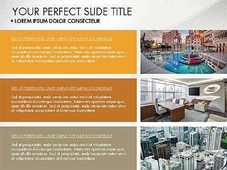 Real Estate Brochure Presentation Template, Slide 6, 04079, Presentation Templates — PoweredTemplate.com