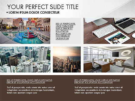 Real Estate Brochure Presentation Template, Slide 8, 04079, Presentation Templates — PoweredTemplate.com