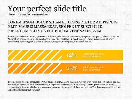 Simple Report Template Concept, Slide 6, 04080, Presentation Templates — PoweredTemplate.com