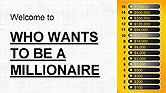 Presentation Templates: 誰が億万長者のプレゼンテーションテンプレートになりたいか #04082