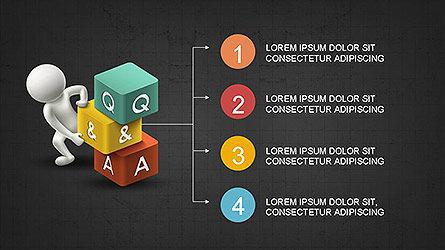 Presentation with 3D Person, Slide 9, 04084, Presentation Templates — PoweredTemplate.com