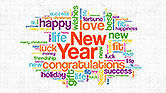 New Year Congratulations and Wishes Presentation Concept#1