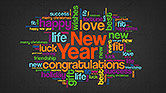New Year Congratulations and Wishes Presentation Concept#9