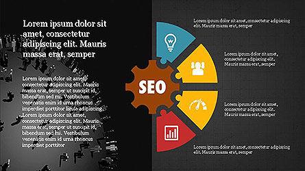 SEO Presentation with Flat Icons, Slide 15, 04089, Presentation Templates — PoweredTemplate.com