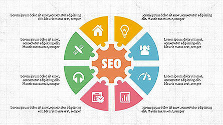 SEO Presentation with Flat Icons Slide 2