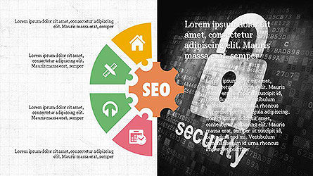 SEO Presentation with Flat Icons Slide 4