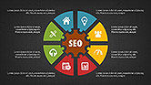 SEO Presentation with Flat Icons#10