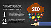 SEO Presentation with Flat Icons#13