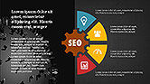SEO Presentation with Flat Icons#15
