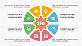 SEO Presentation with Flat Icons#2
