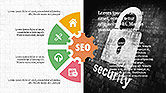 SEO Presentation with Flat Icons#4