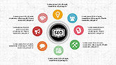 SEO Presentation with Flat Icons#8
