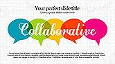 Presentation Templates: Plantilla de presentación colaborativa #04093