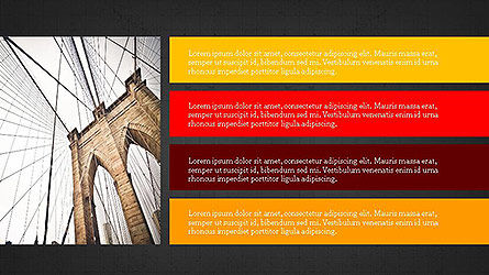 Grid Layout Presentation Template, Slide 10, 04094, Presentation Templates — PoweredTemplate.com