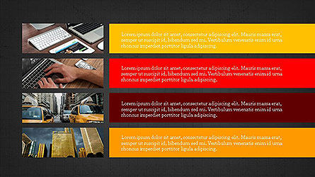 Grid Layout Presentation Template, Slide 12, 04094, Presentation Templates — PoweredTemplate.com